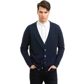 Citizen Cashmere Men's V-Neck Cardigan