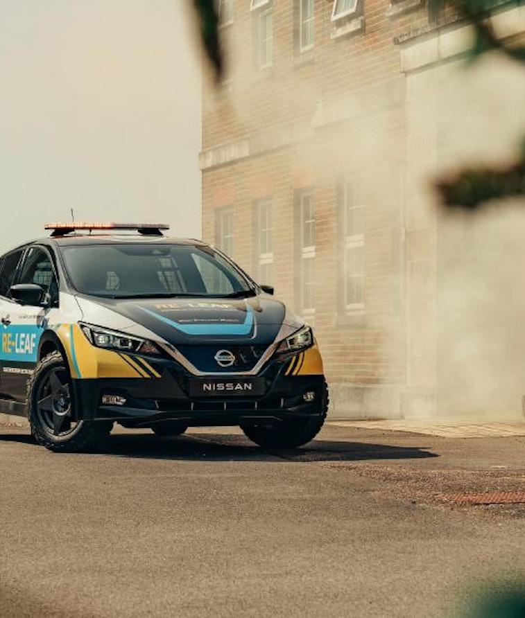 Nissan Re-Leaf relief EV