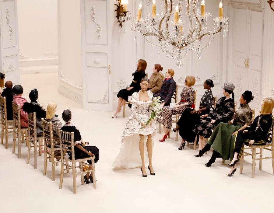 Moschino Puppet Show Fashion Week Spring 2021