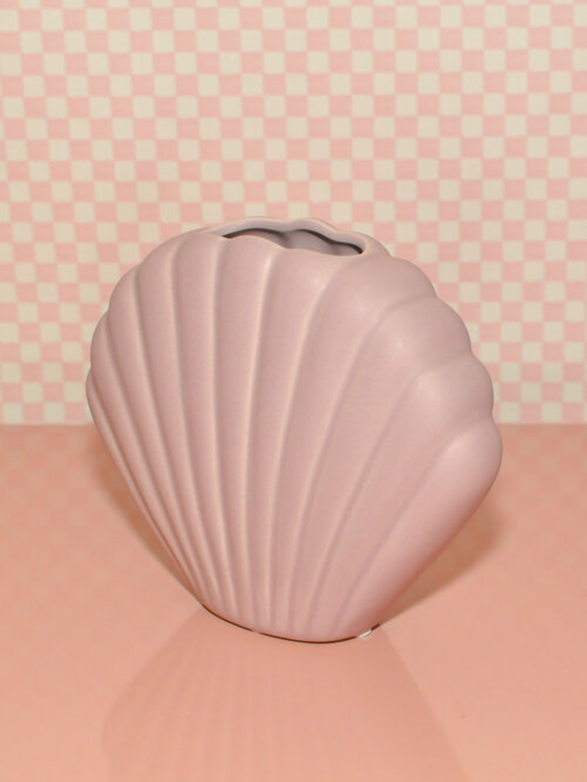 Pink Shell Vase