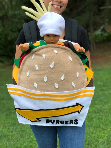 EmBabyBoutique Burger & Fries Costume