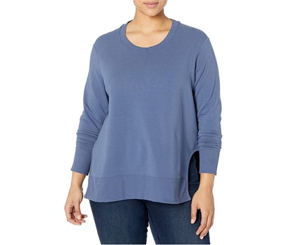 Daily Ritual Plus Size Pullover with Side Cutouts