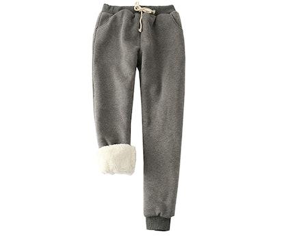 Flygo Fleece Lined Sweatpants