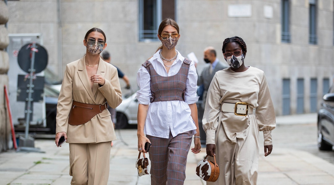 The Milan Fashion Week Spring 2021 Street Style Looks You Can Shop Right Now