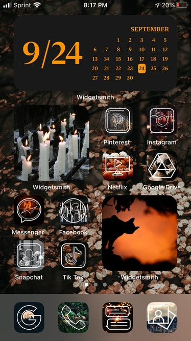 Spooky Halloween Iphone IOS14 Icons Pack
