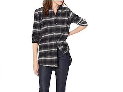 Goodthreads Women's Oversized Boyfriend Shirt