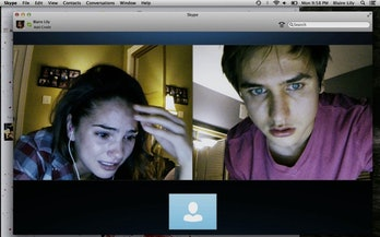 unfriended movie skype
