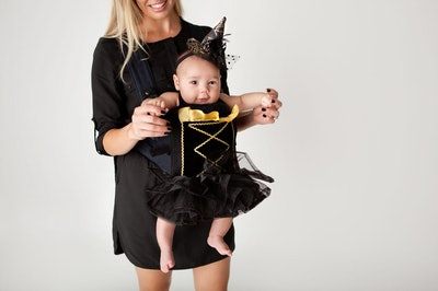 TicklesandtootsMB Wee Witch Baby Carrier Costume