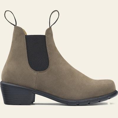 #1961 Women's Series Heeled Boots - Stone Nubuck