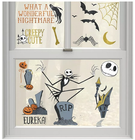 'The Nightmare Before Christmas' Cling Decals 15ct