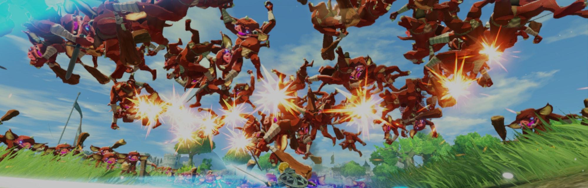 nintendo zelda hyrule warriors age of calamity