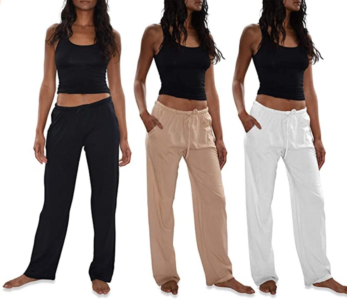 SweatyRocks Active Pants With Pocket (3-Pack)