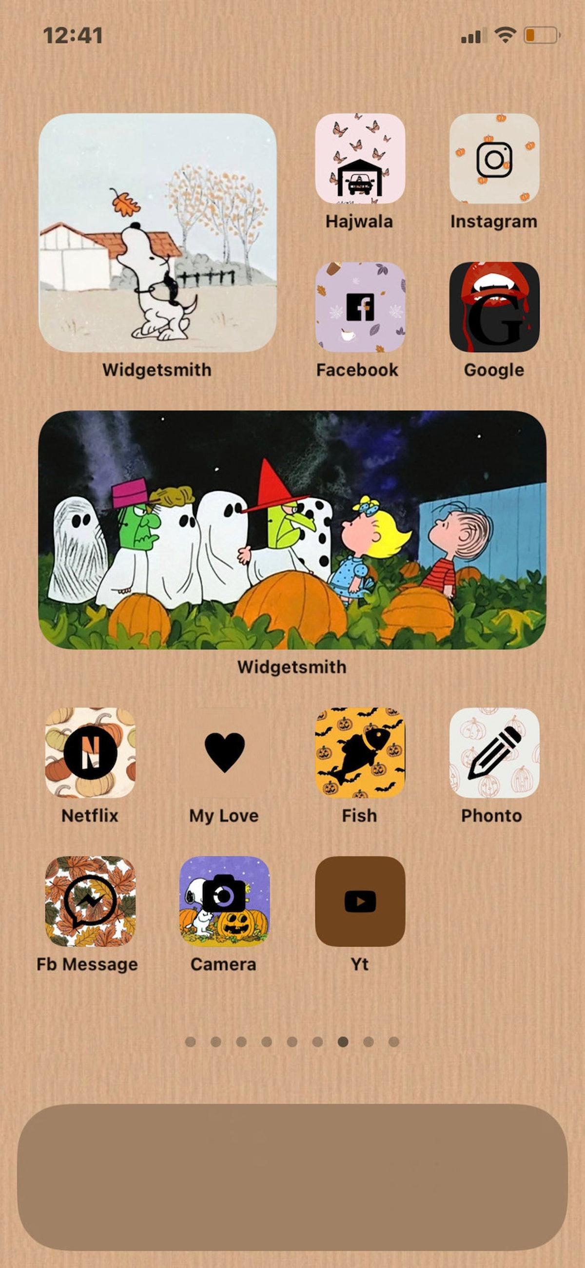 Halloween iOS 14 icons