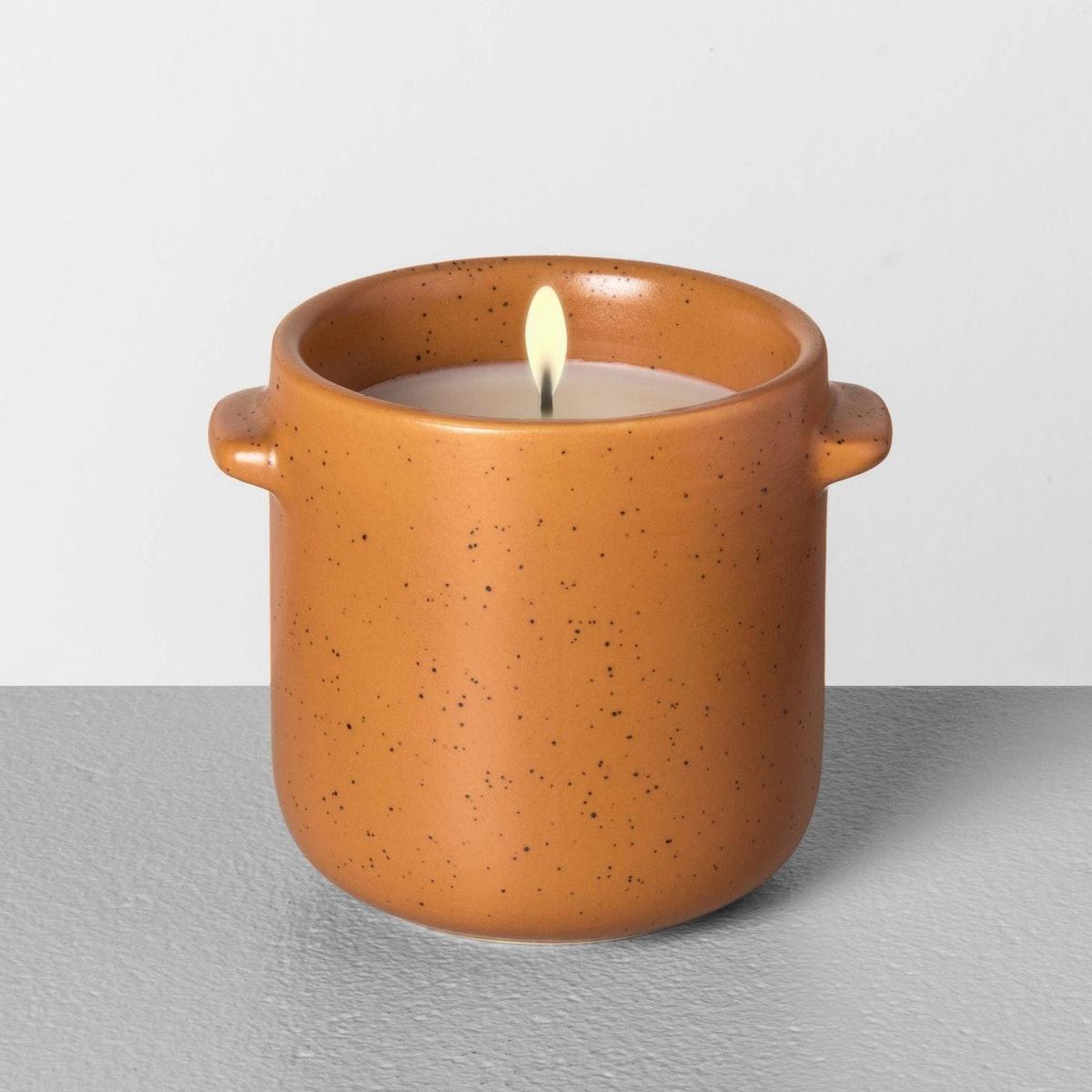 6.2oz Seasonal Ceramic Candle Harvest