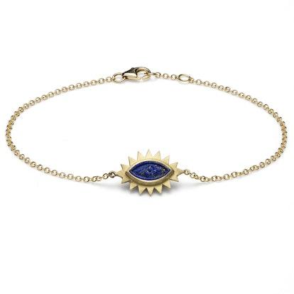 Greek Eye Carved Bracelet