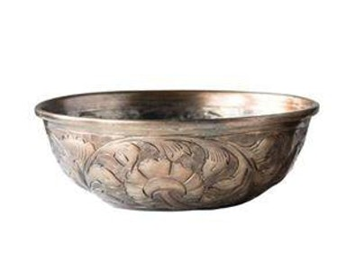 Engraved Gold Bowl - Small