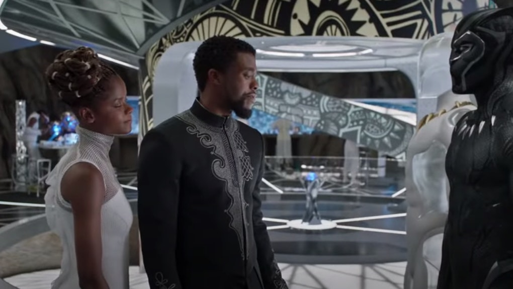 Shuri and T'Challa in 'Black Panther'