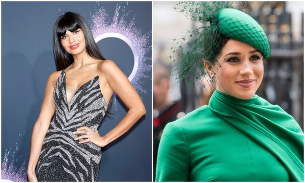 Jameela Jamil responded to rumors she's friends with Meghan Markle.