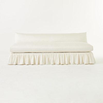 Flutter Slipcover Sofa
