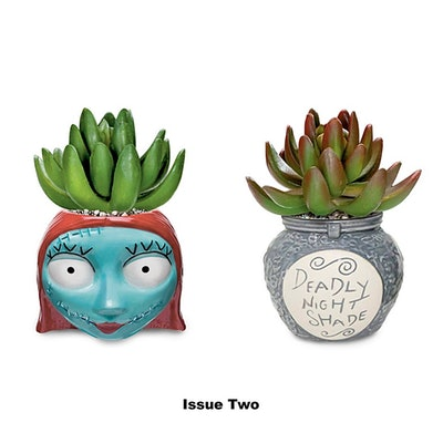 The Nightmare Before Christmas Succulents Collection, Issue Two: Sally and Deadly Nightshade