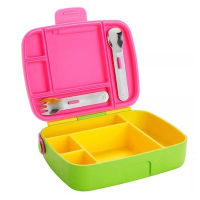 Munchkin Bento Box Toddler Lunch Box in Yellow