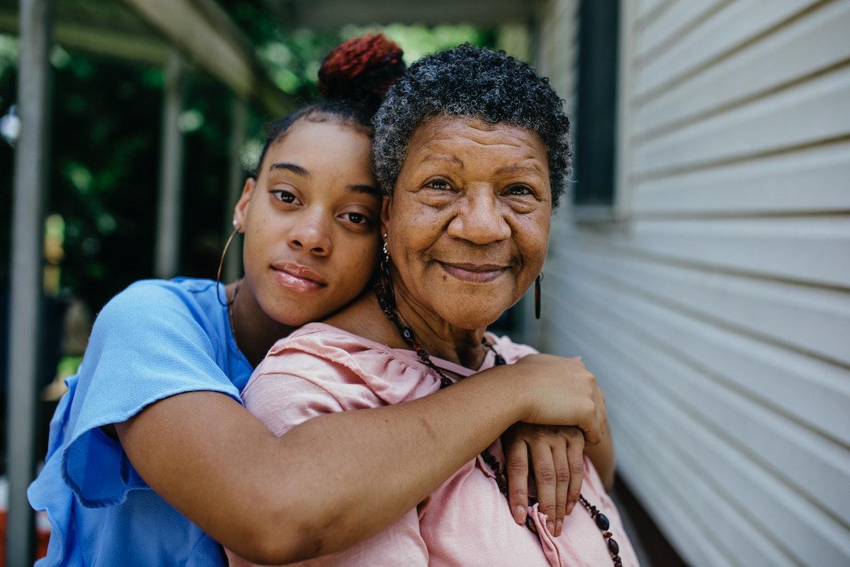 Granddaughter & grandmother