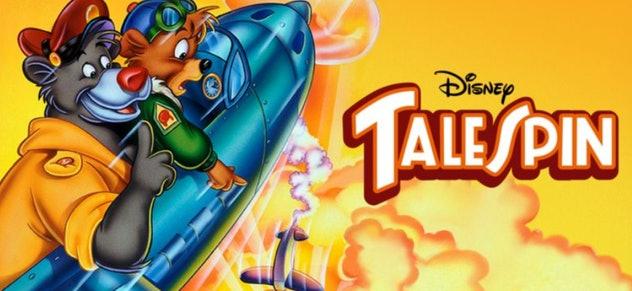 Talespin is a classic action-adventure cartoon from 1990