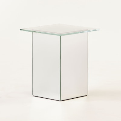 Muse Mirror Side Table