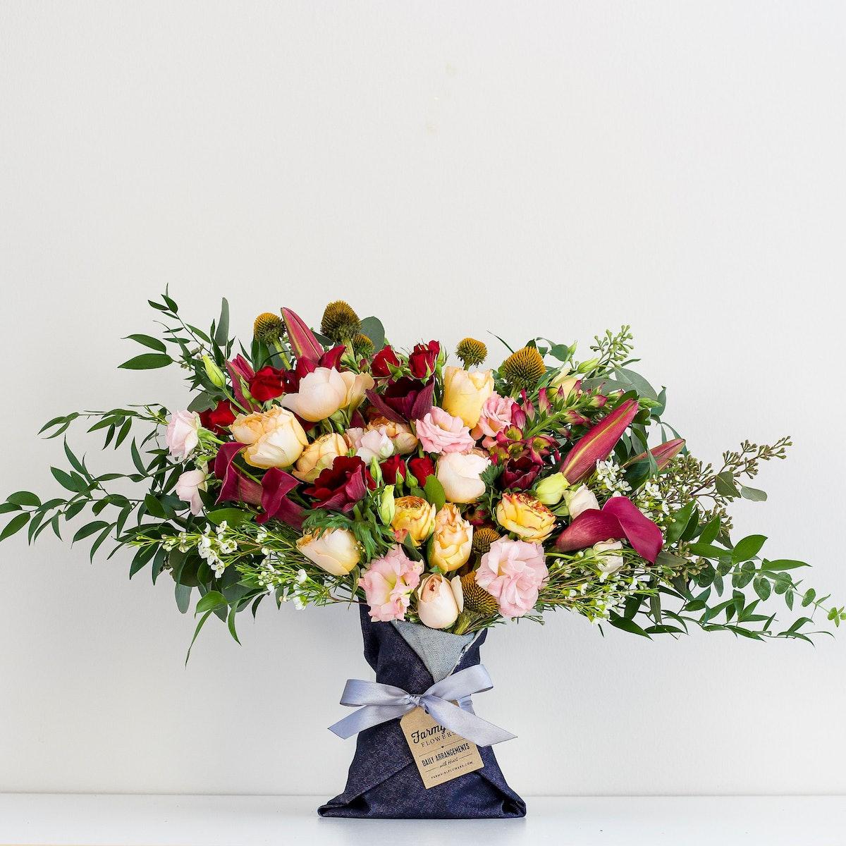 Big Love Denim-Wrapped Bouquet