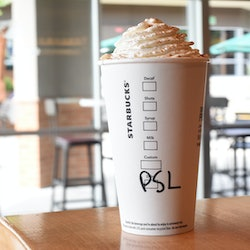 Starbucks Pumpkin Spice Latte hacks for fall.
