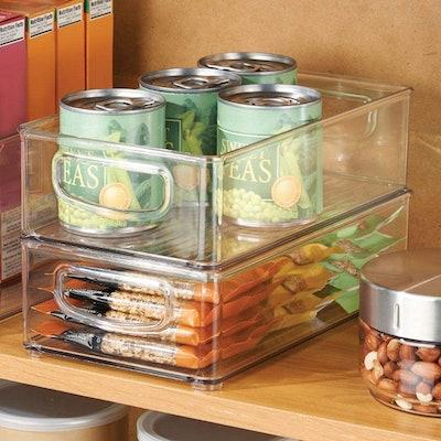 mDesign Cabinet Storage Bins (4-Pack)