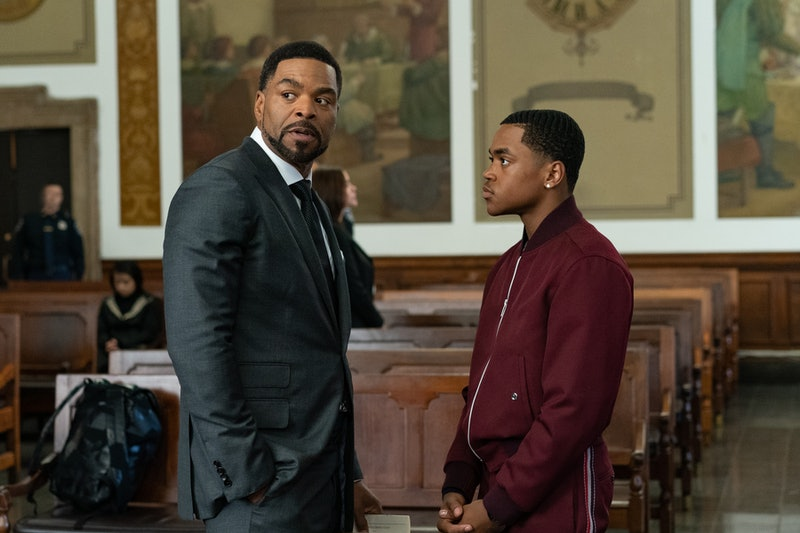 Method Man as Davis MacLean & Michael Rainey Jr. as Tariq St. Patrick in 'Power Book II: Ghost'