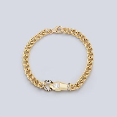 Toujours Diamond Snake Bracelet