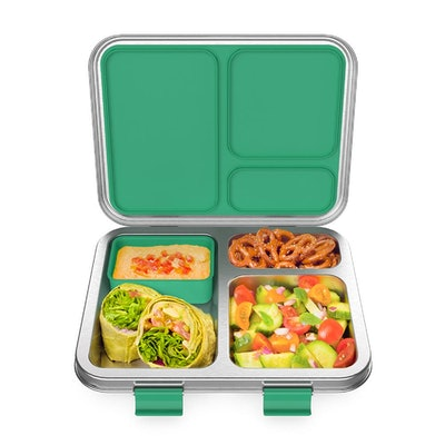 Bentgo Kids Stainless Steel Lunch Box in Green