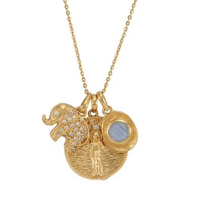 Goddess Of Prosperity Necklace