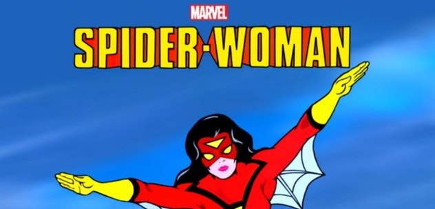 Spider-Woman is a superhero cartoon from 1979 available to stream on Disney+