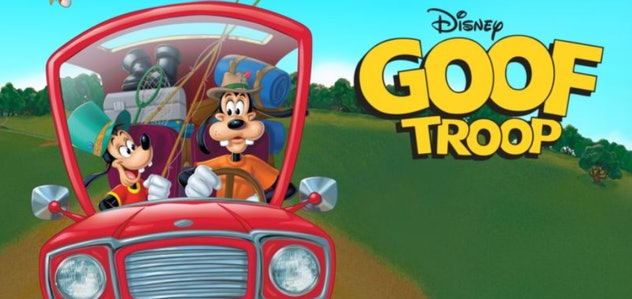 Goof Troop is a '90s cartoon about Goofy and his son Max