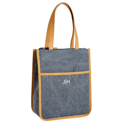 Northfield Navy Tote Lunch Bag