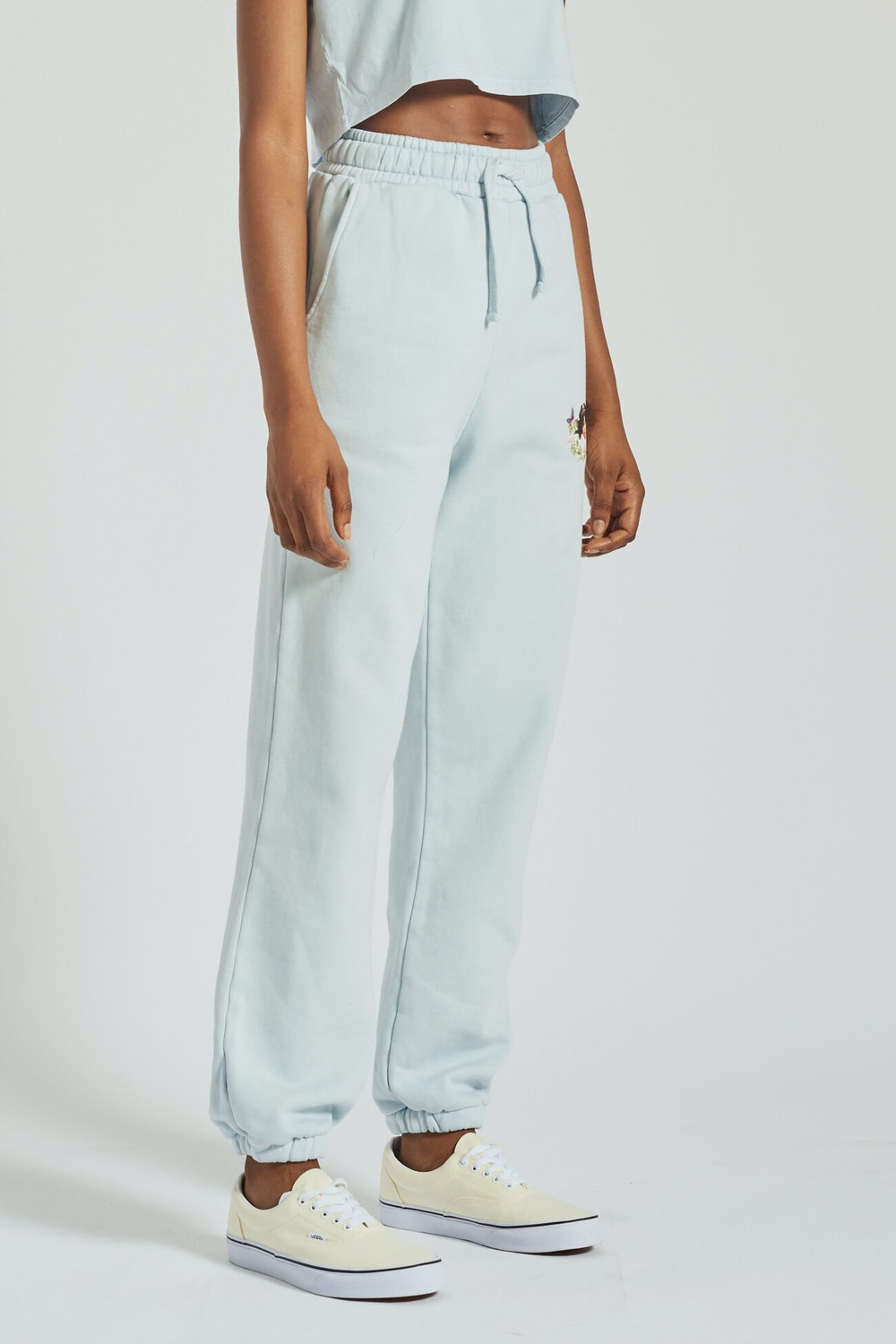 WOODLAND ANGELS PATCH JOGGER RIVER