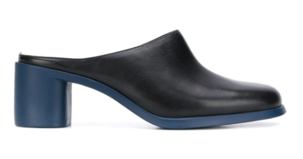 Meda 60mm Two-Tone Mules