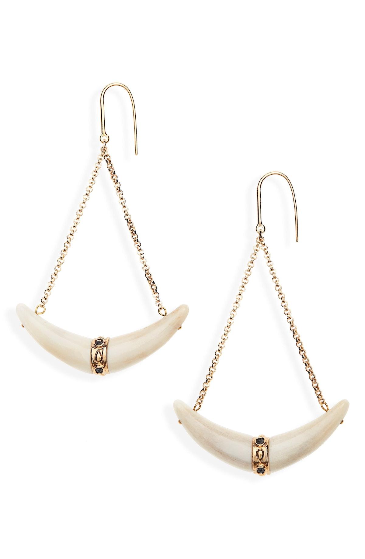 Bouclé D'Oreille Horn Earrings