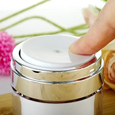 New Kleem Organics Empty Airless Cosmetic Container