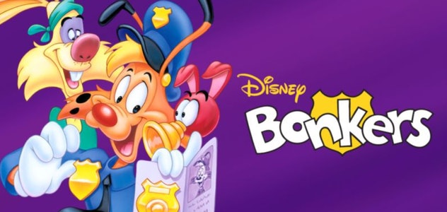 Bonkers is an animated show from the early 1990s