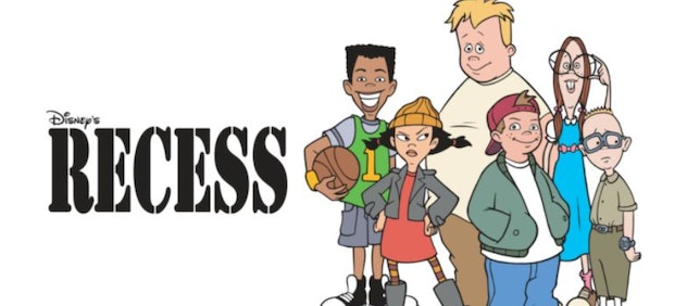 Recess is a classic cartoon from the late 1990s