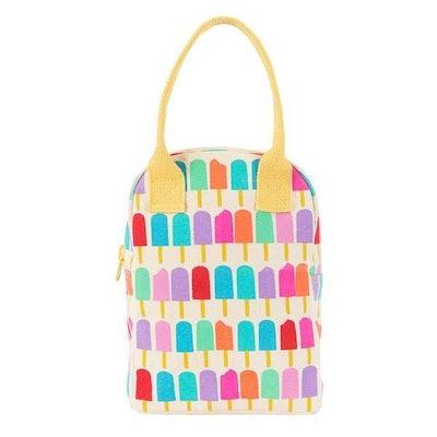 Fluf Zipper Lunch Bag / Popsicle