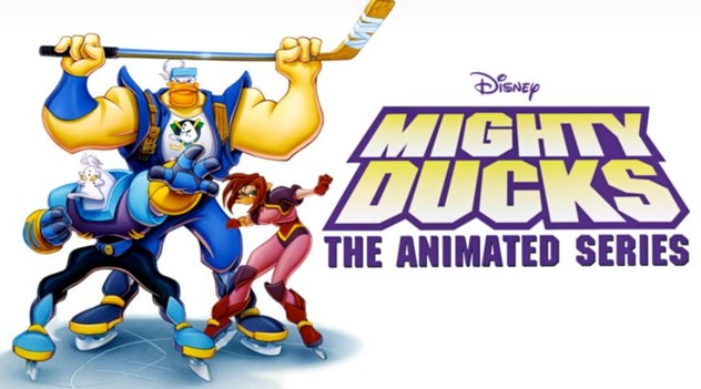 Might Ducks the animated series starred hockey-playing ducks from the planet Puckworld who have to defend the Earth