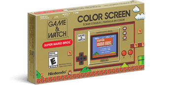 Nintendo game & Watch Super Mario Bros. box