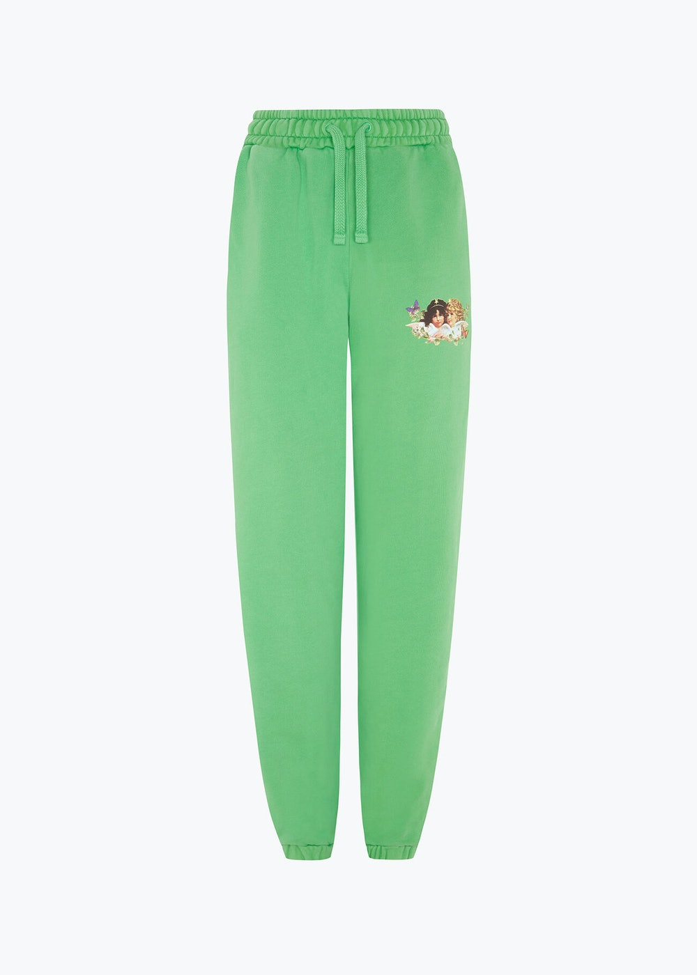 WOODLAND ANGELS PATCH JOGGER FOREST