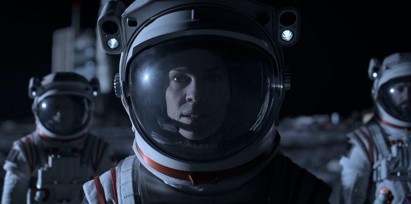 Hilary Swank as Commander Emma Green in 'Away' via the Netflix press site