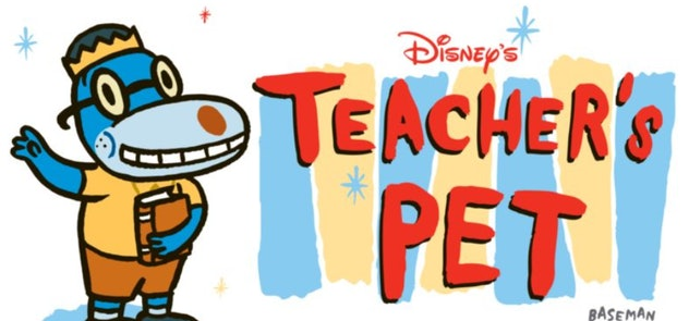 Teacher's Pet is a cartoon from the year 2000 about a dog who goes to school disguised as a boy